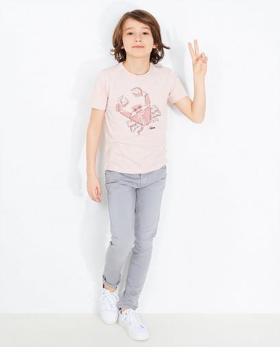 T-Shirt mit Krabbenprint